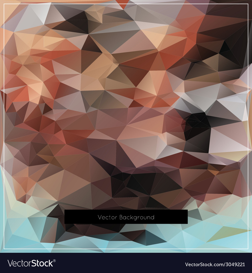 Abstract polygonal background pattern