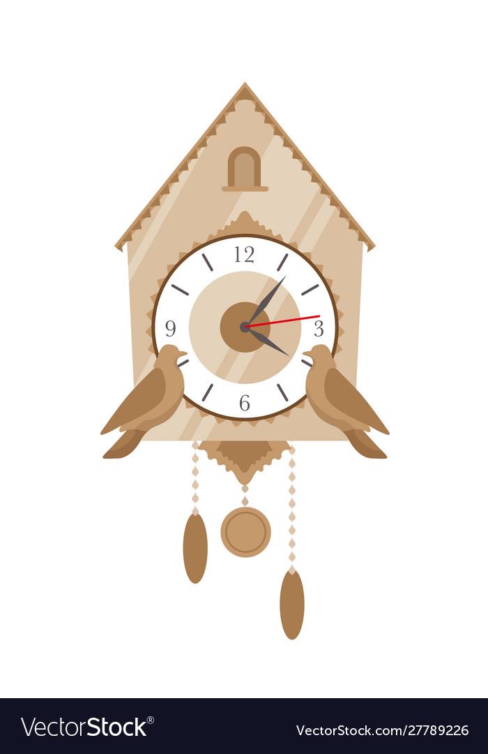 Cuckoo clock flat vintage