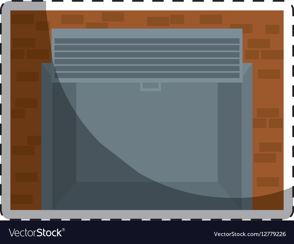 Open garage door icon image