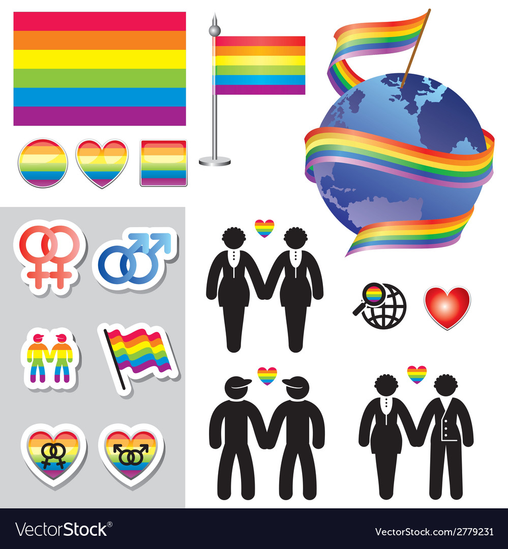 Gay map icons