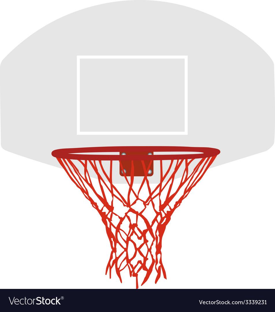 Grey basketball basket