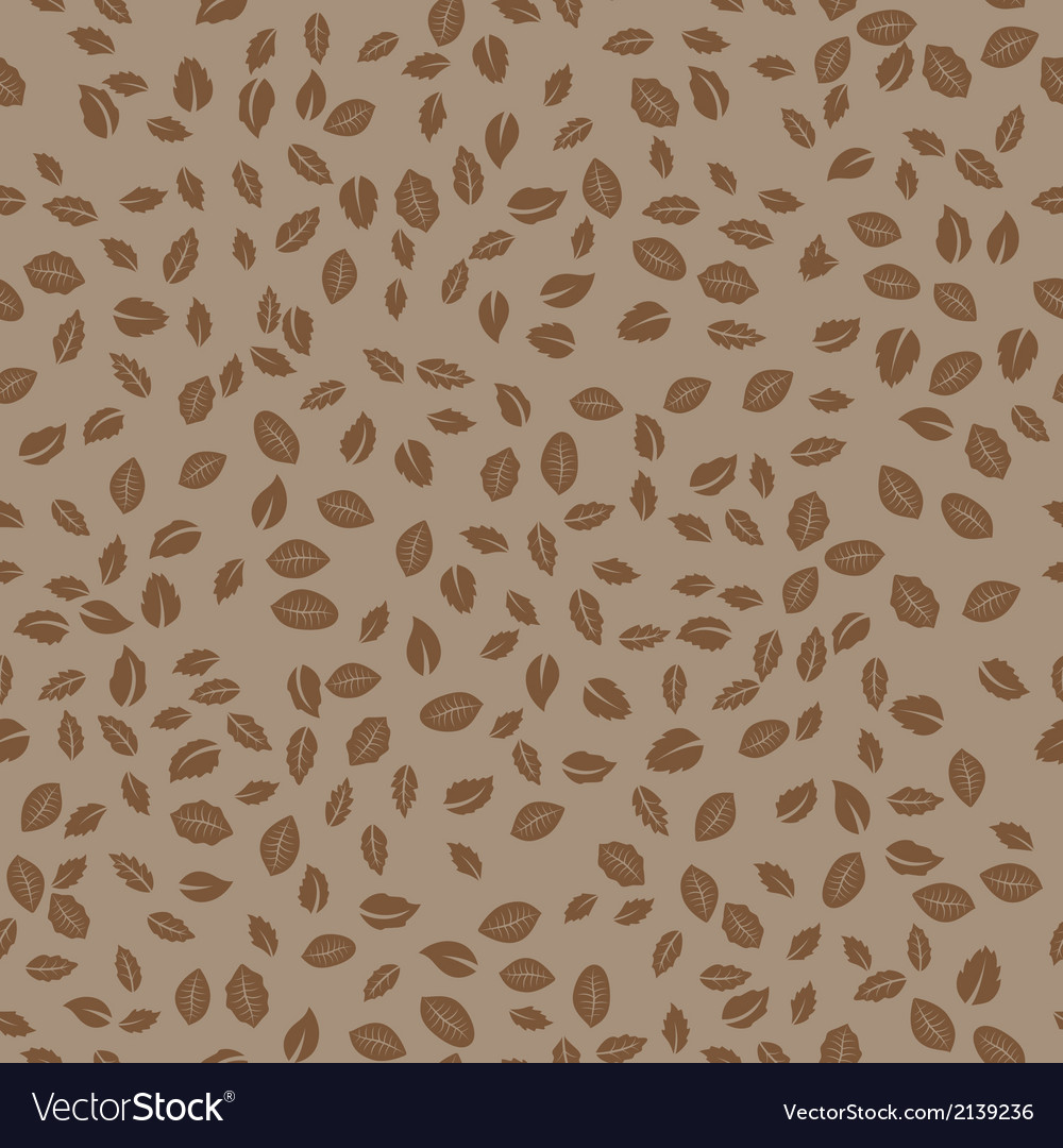 Abstract Seamless Leaves Pattern background