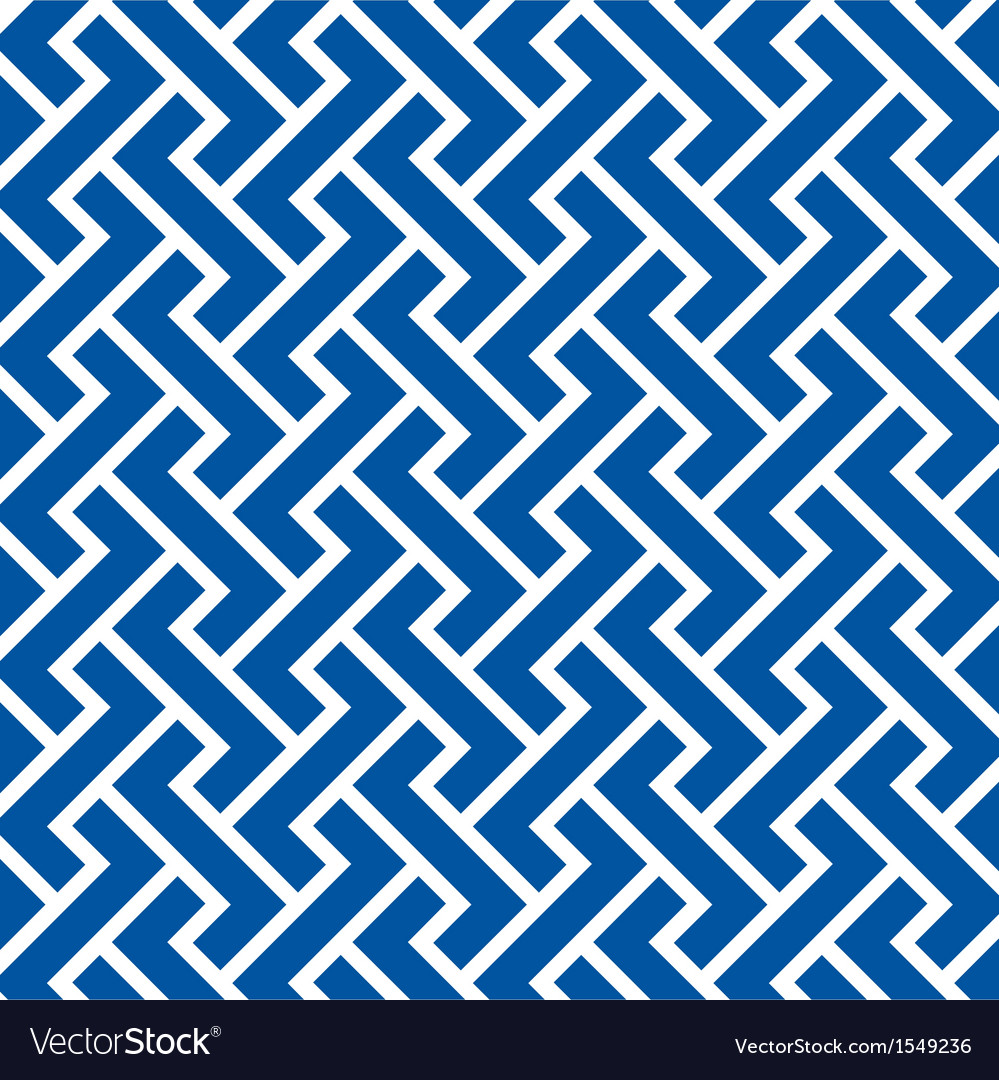 Pattern seamless chevron blue