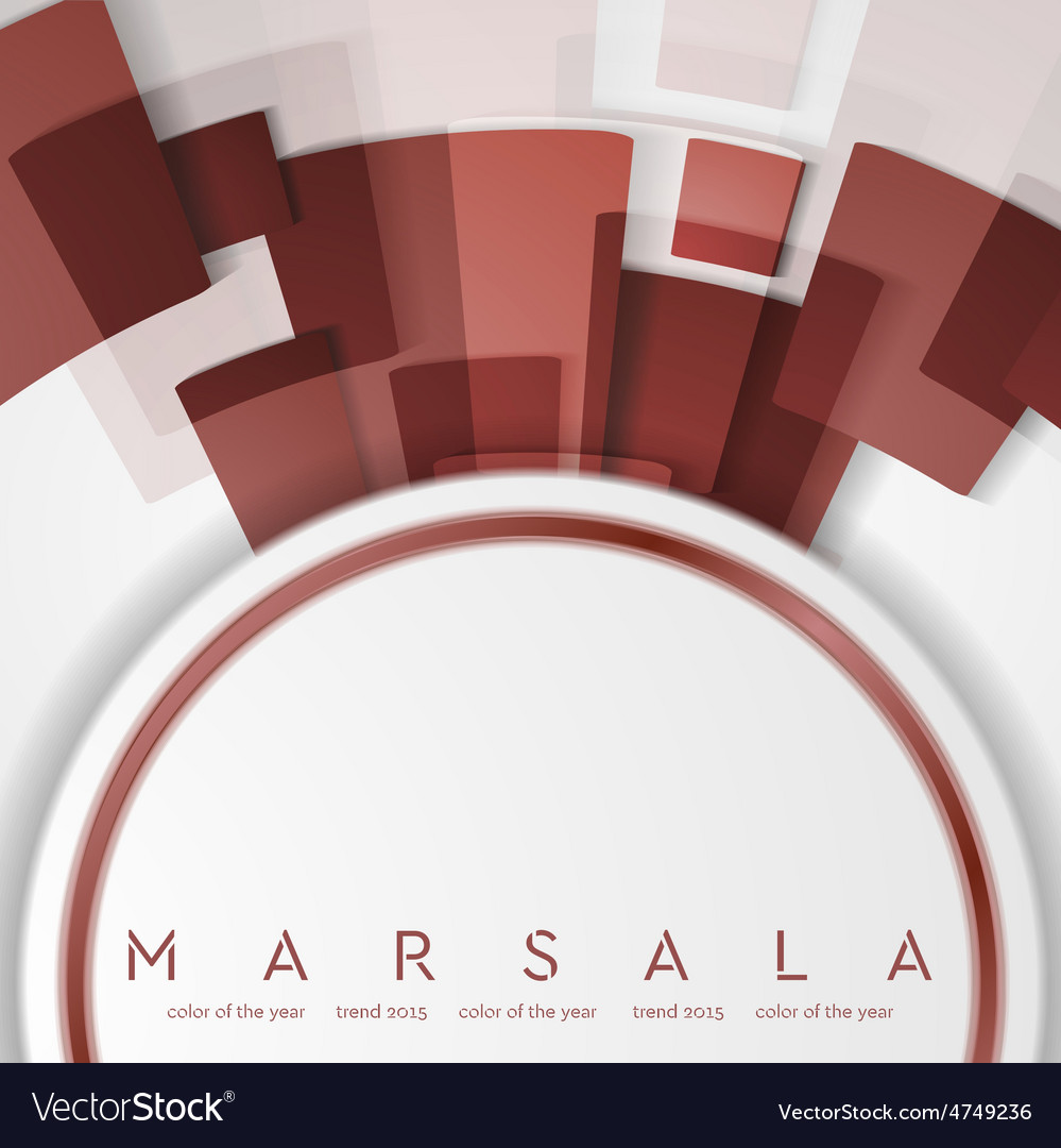 Trendy color marsala 2015 Technology abstract