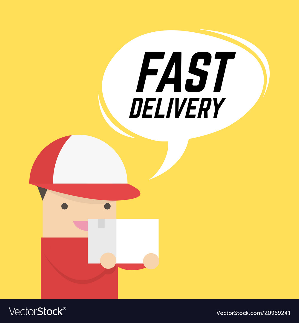 Fast delivery service express delivery courier