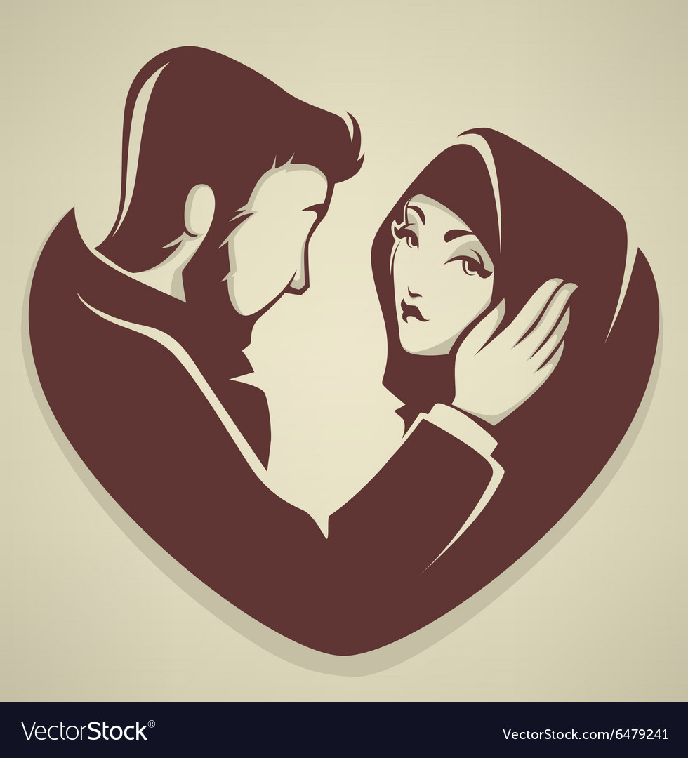 Romantic Islamic Wedding Cartoon Images