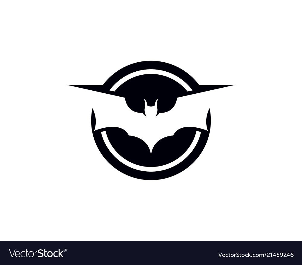 Bat Logo And Symbols Template Vector Image