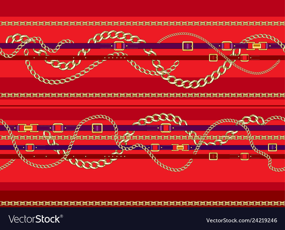Red trendy pattern