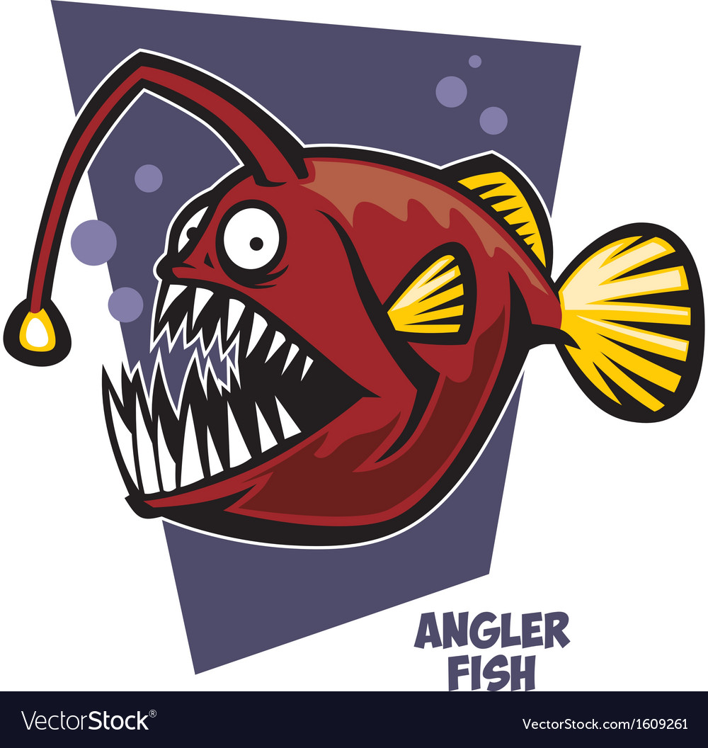 Cartoon & Anglerfish Vector Images (30)