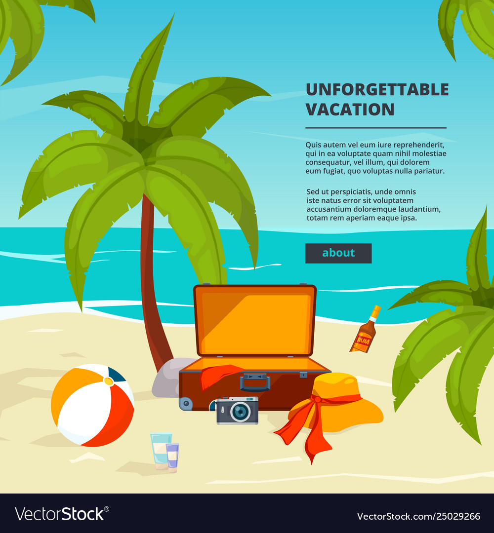 Background with suitcases travel in