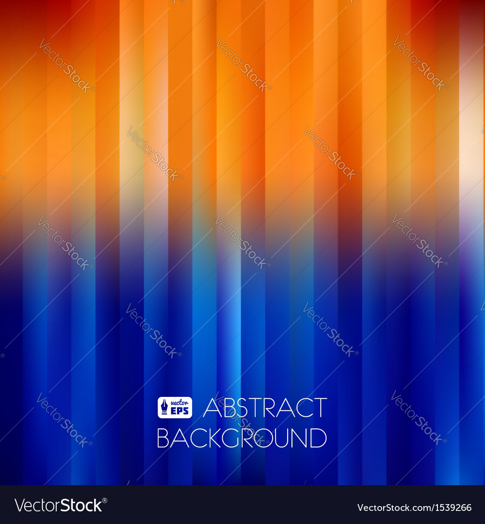 Blue-Orange Abstract Striped Background