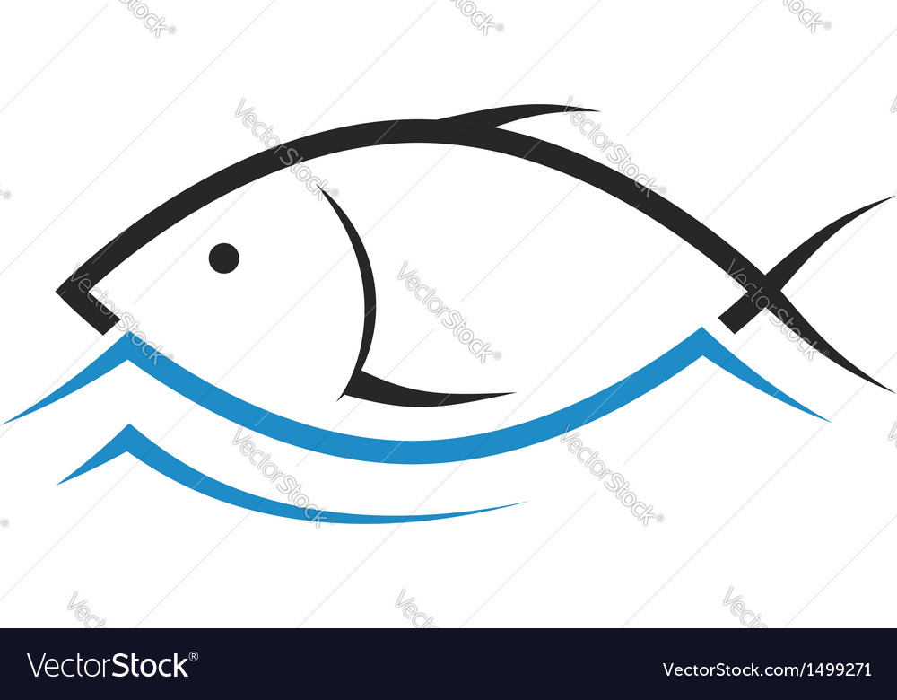 design of fish royalty free vector image vectorstock rh vectorstock com fish vector underwater lighting fish vector art free