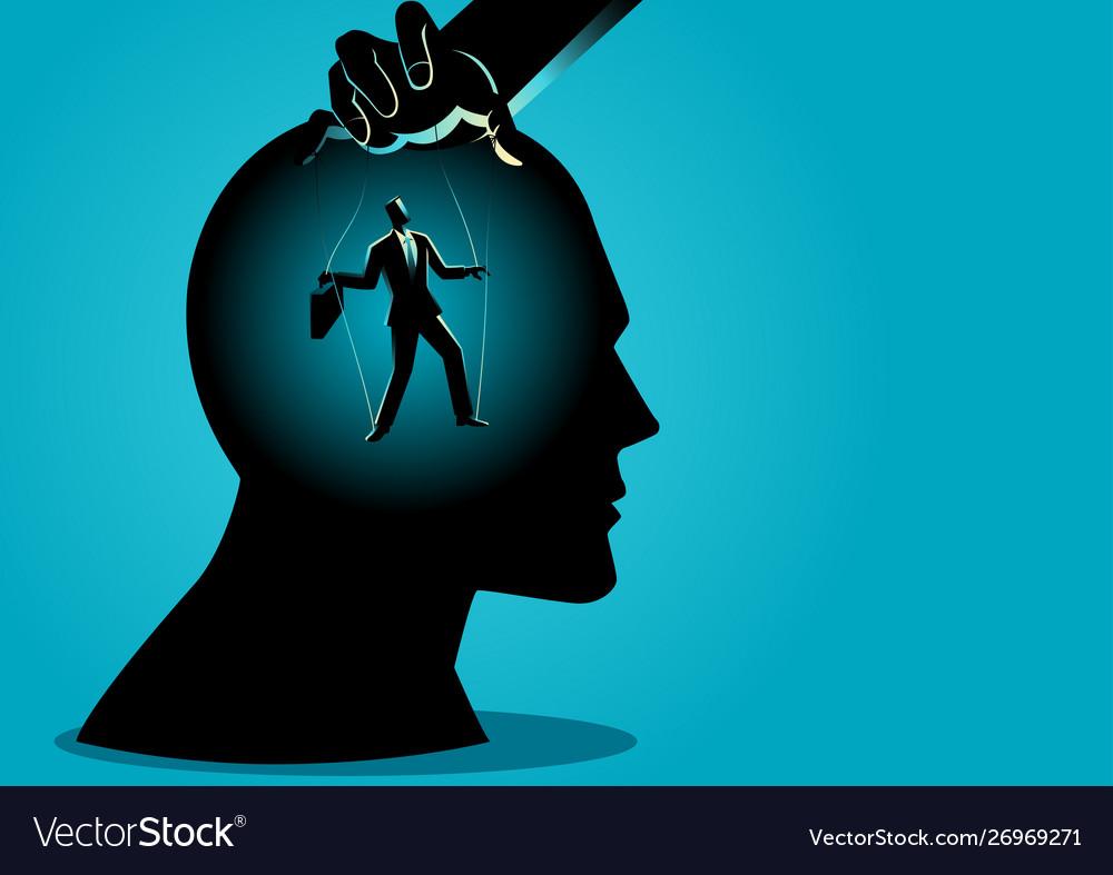 Puppet master controls mind