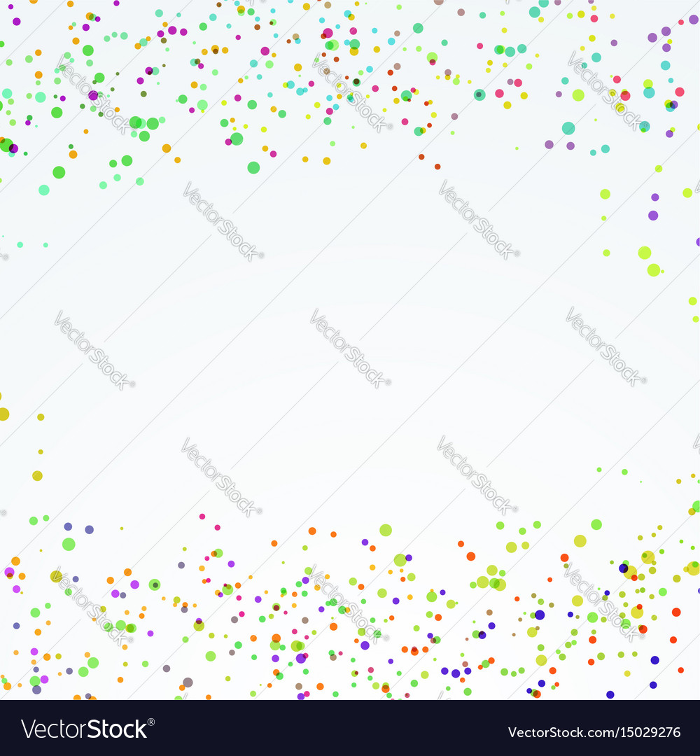 Abstract festive dotted paint splatter layout