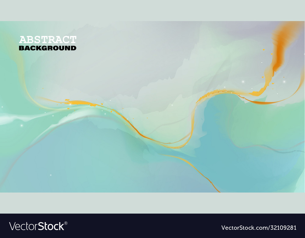Colorful luxury abstract painting background Vector Image