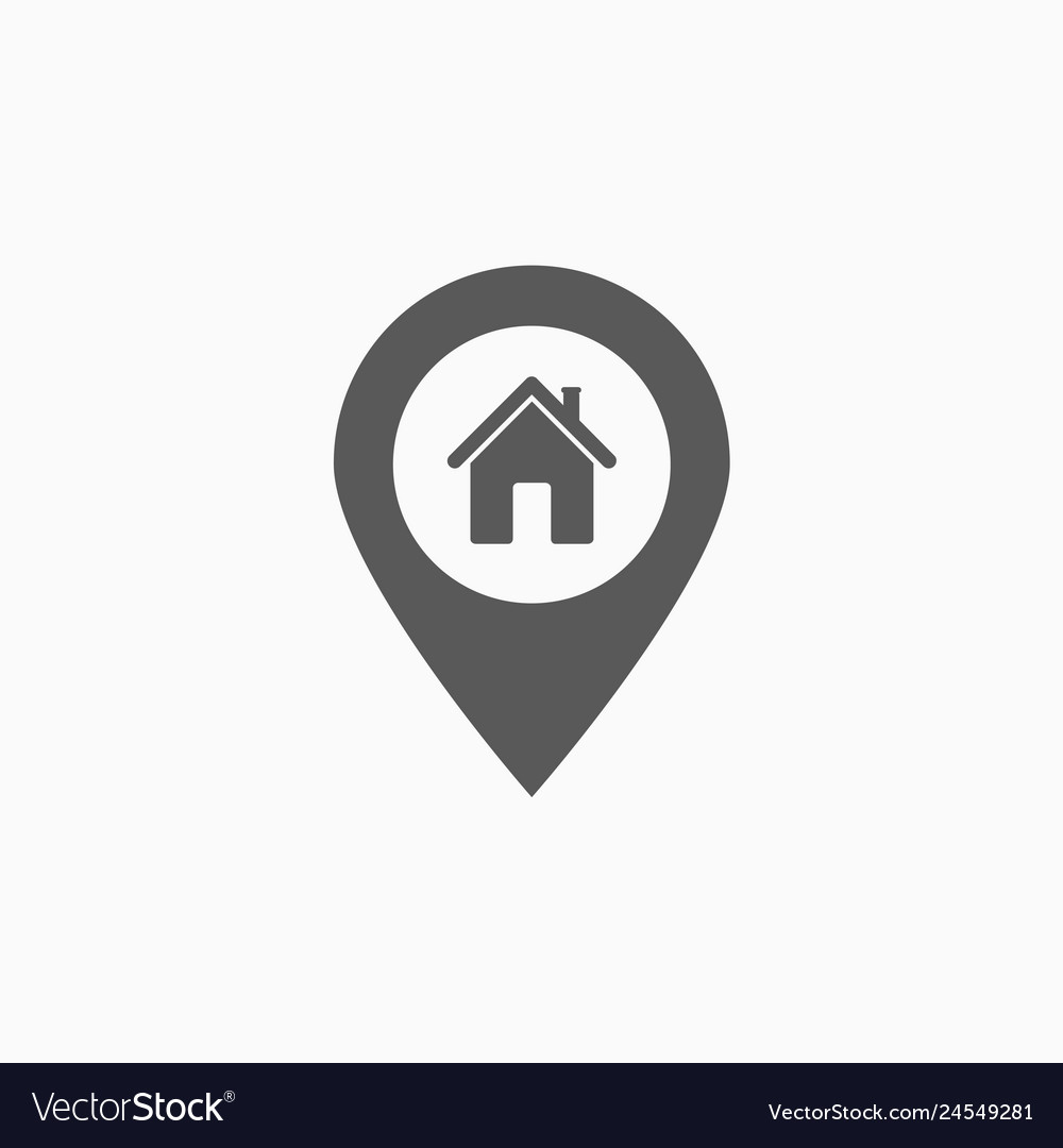 Pin home icon