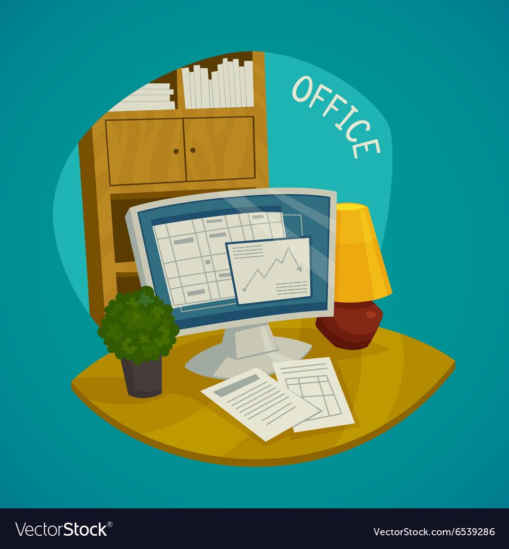 Office Design Concept Set