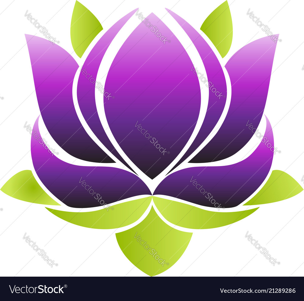 Purple lotus flower icon royalty free vector image purple lotus flower icon vector image izmirmasajfo