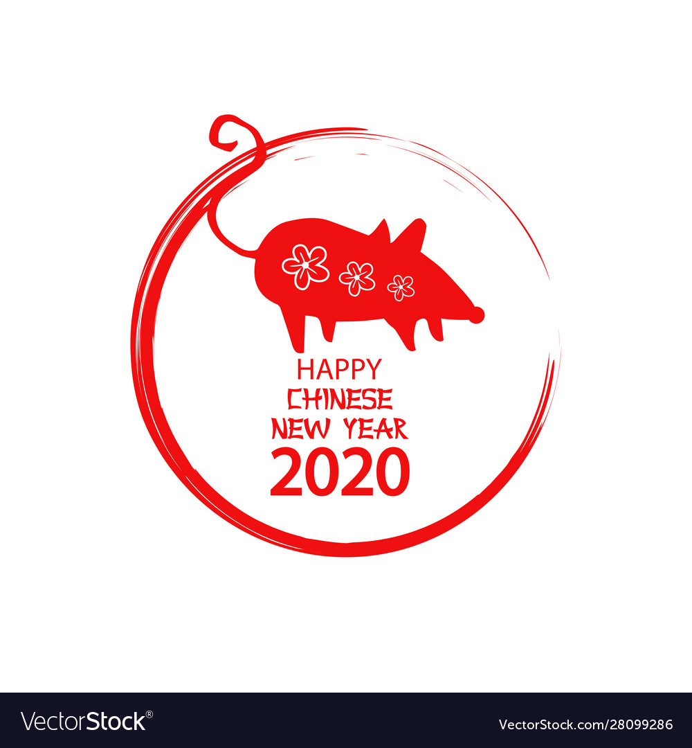 Rat is a symbol 2020 chinese new year