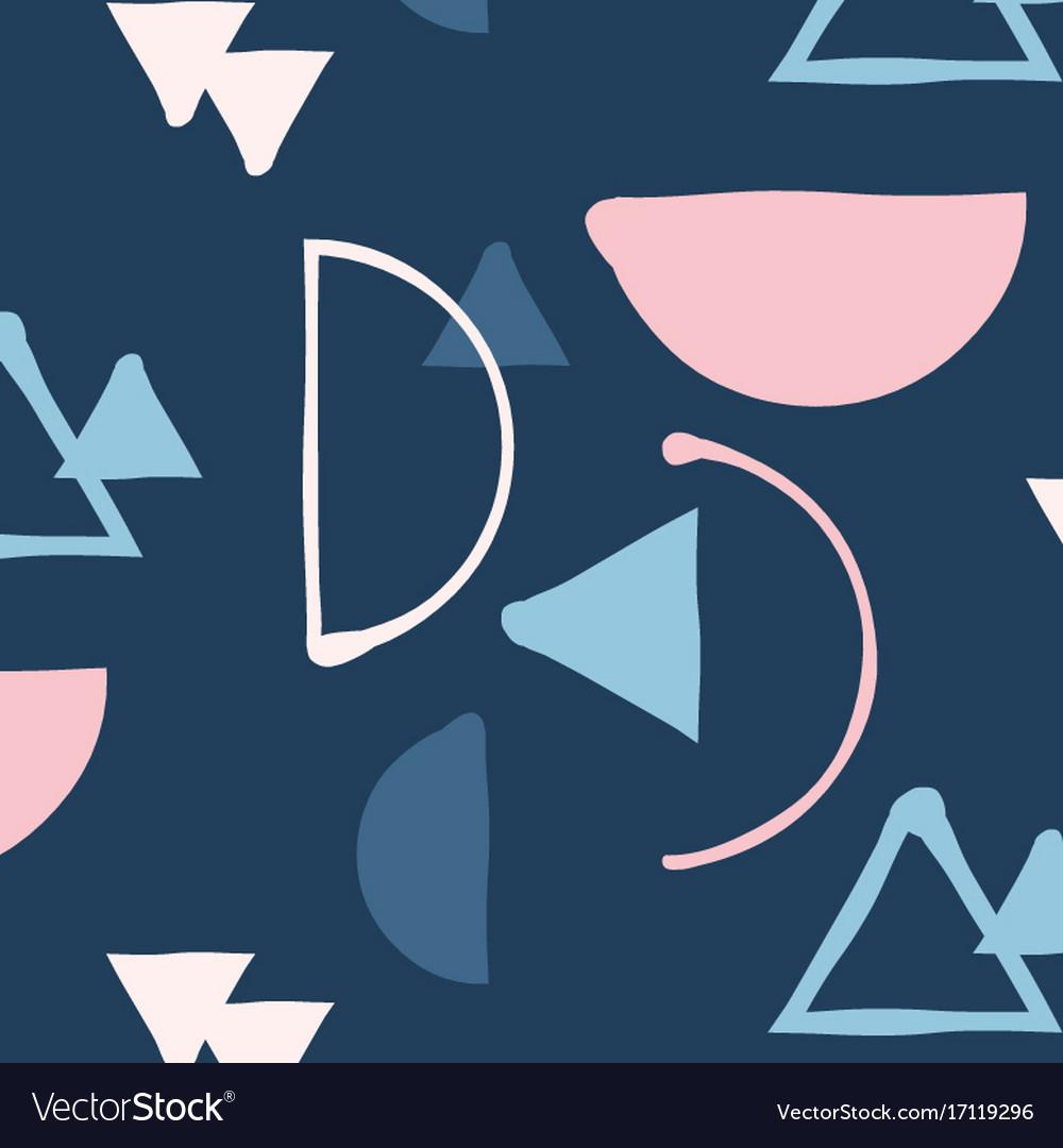 Hipster mix and match minimalistic pattern
