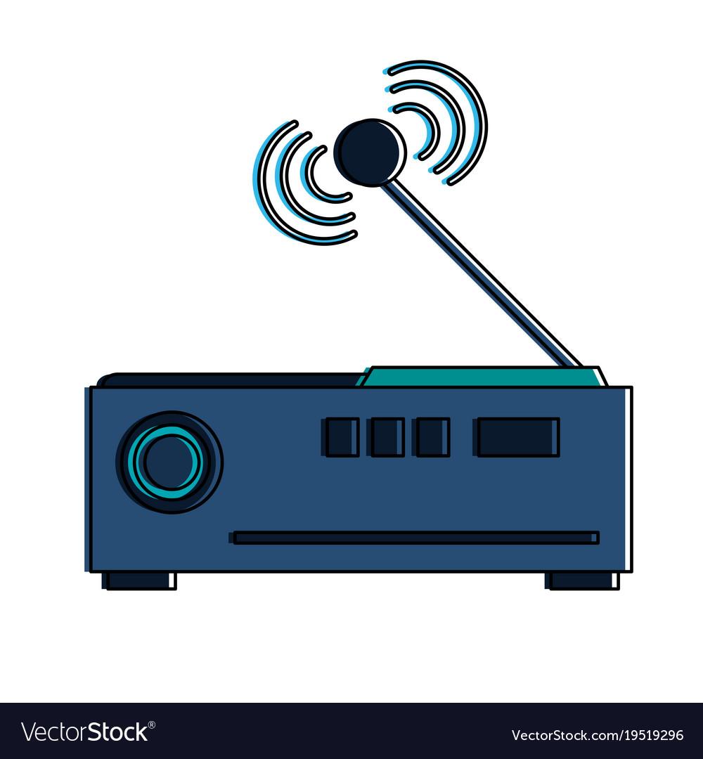 Wifi router antenna