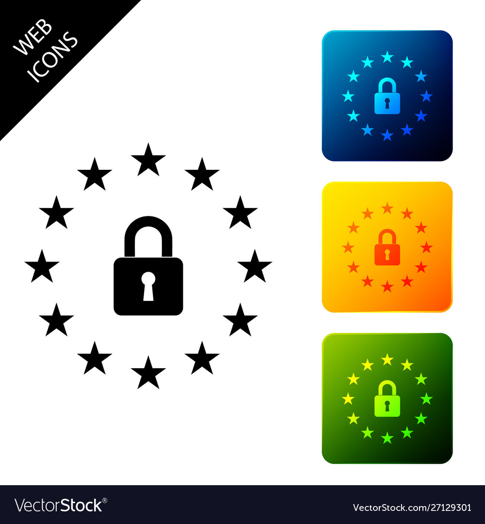 Gdpr - general data protection regulation icon