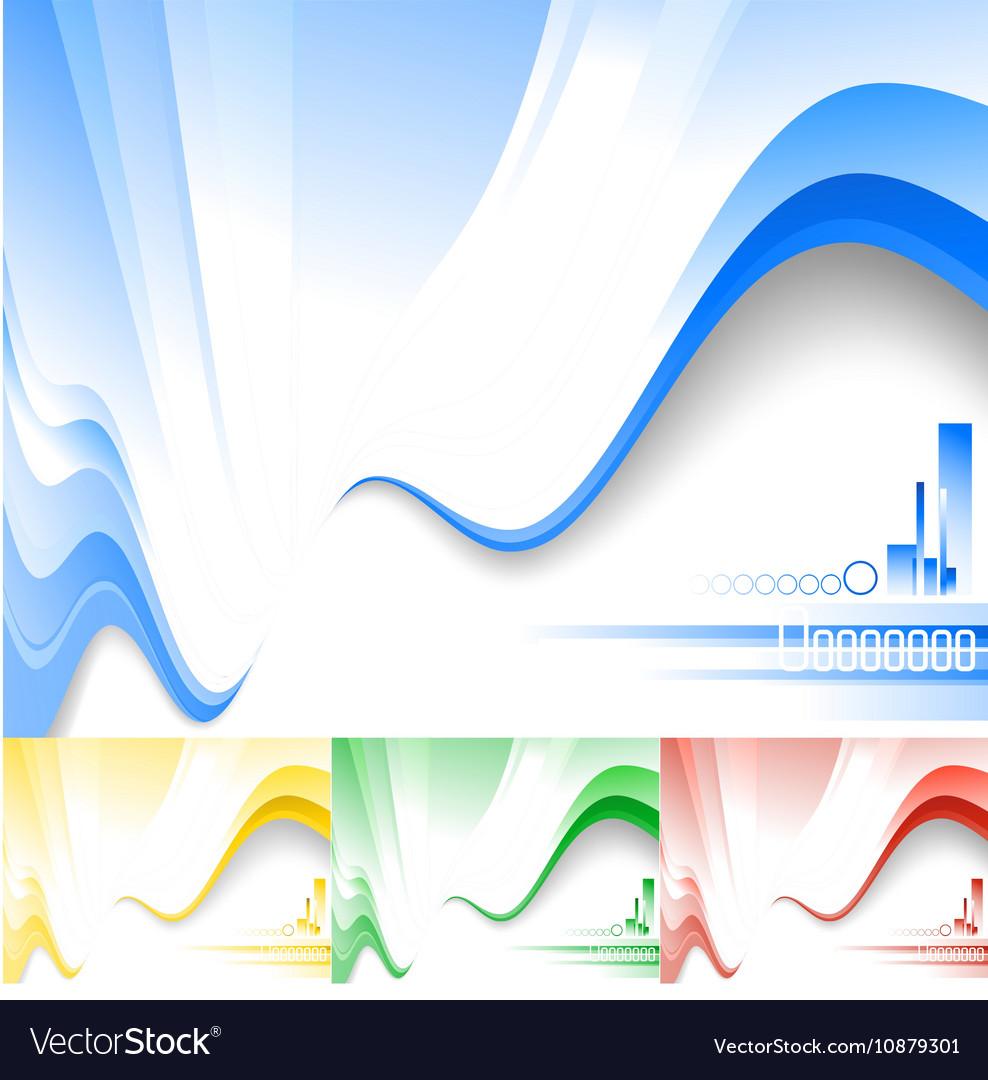Modern composition vector image