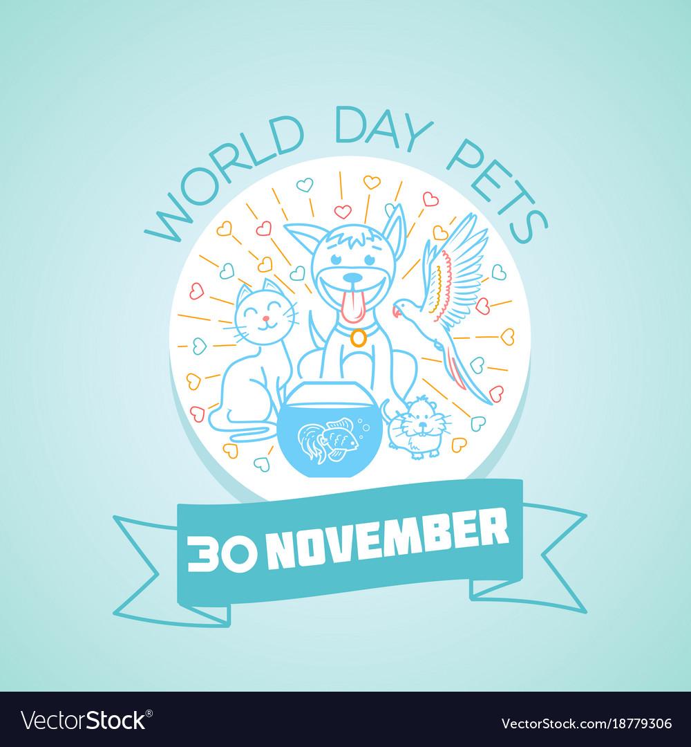 30 november world day pets