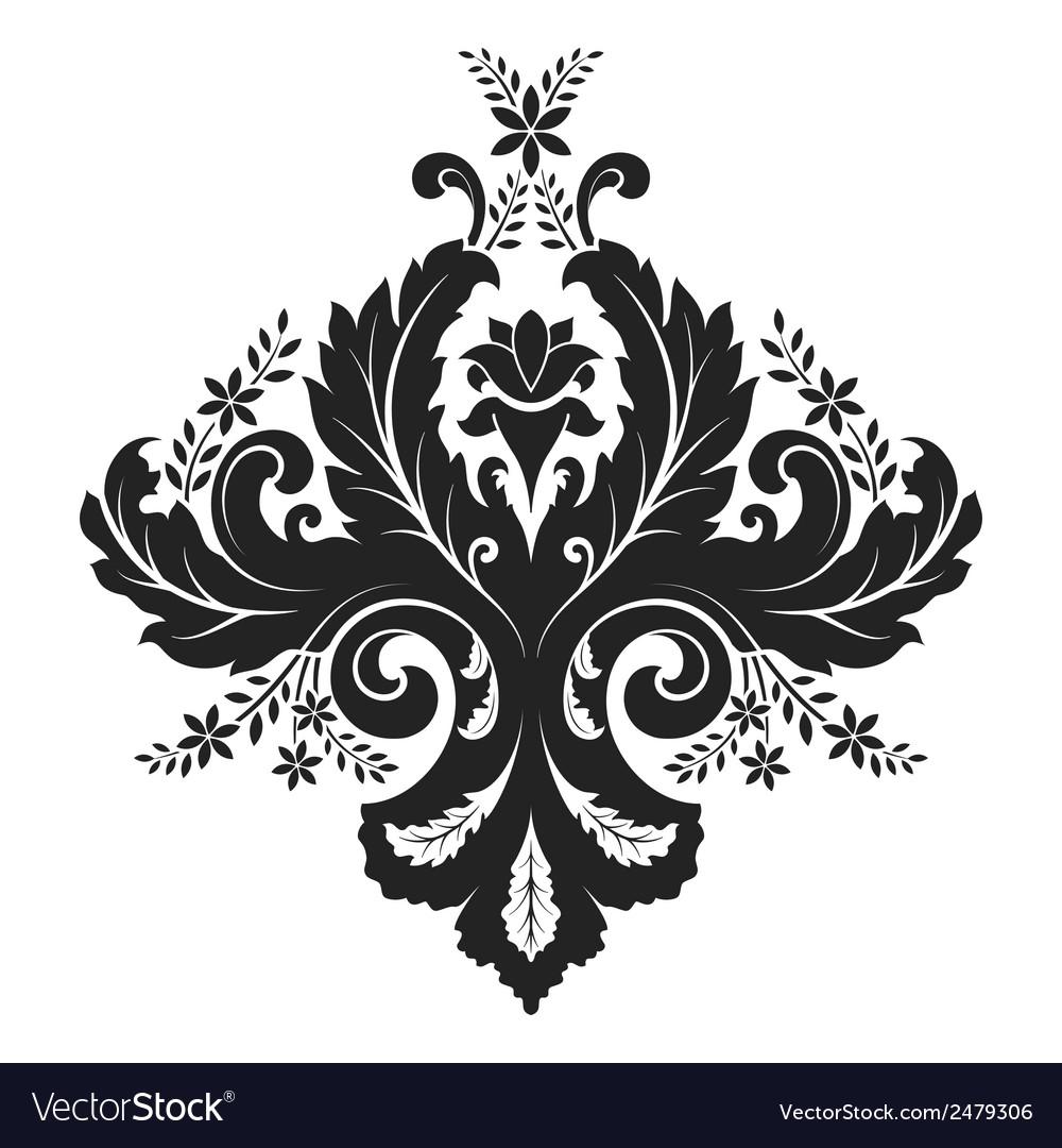 Damask ornament