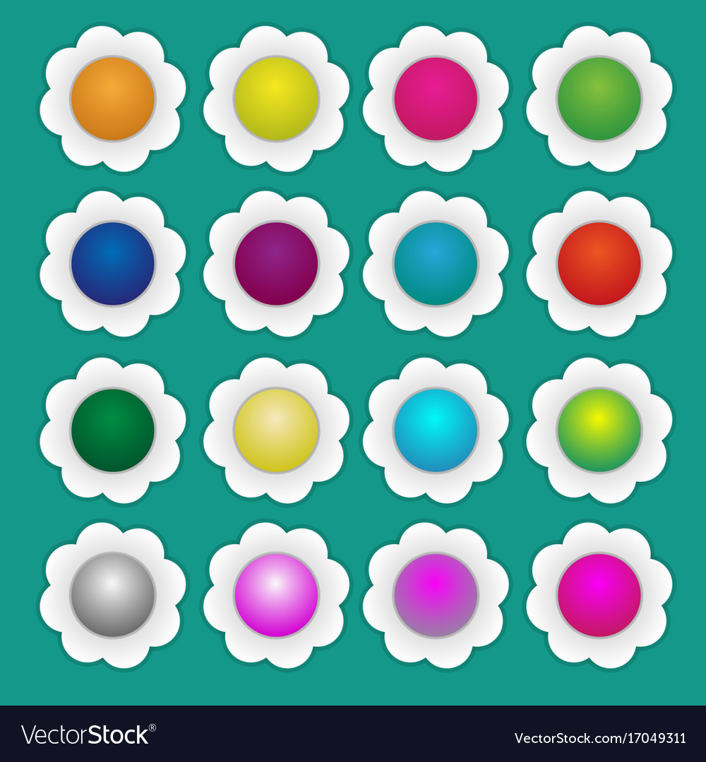 Colorful paper flowers royalty free vector image colorful paper flowers vector image mightylinksfo