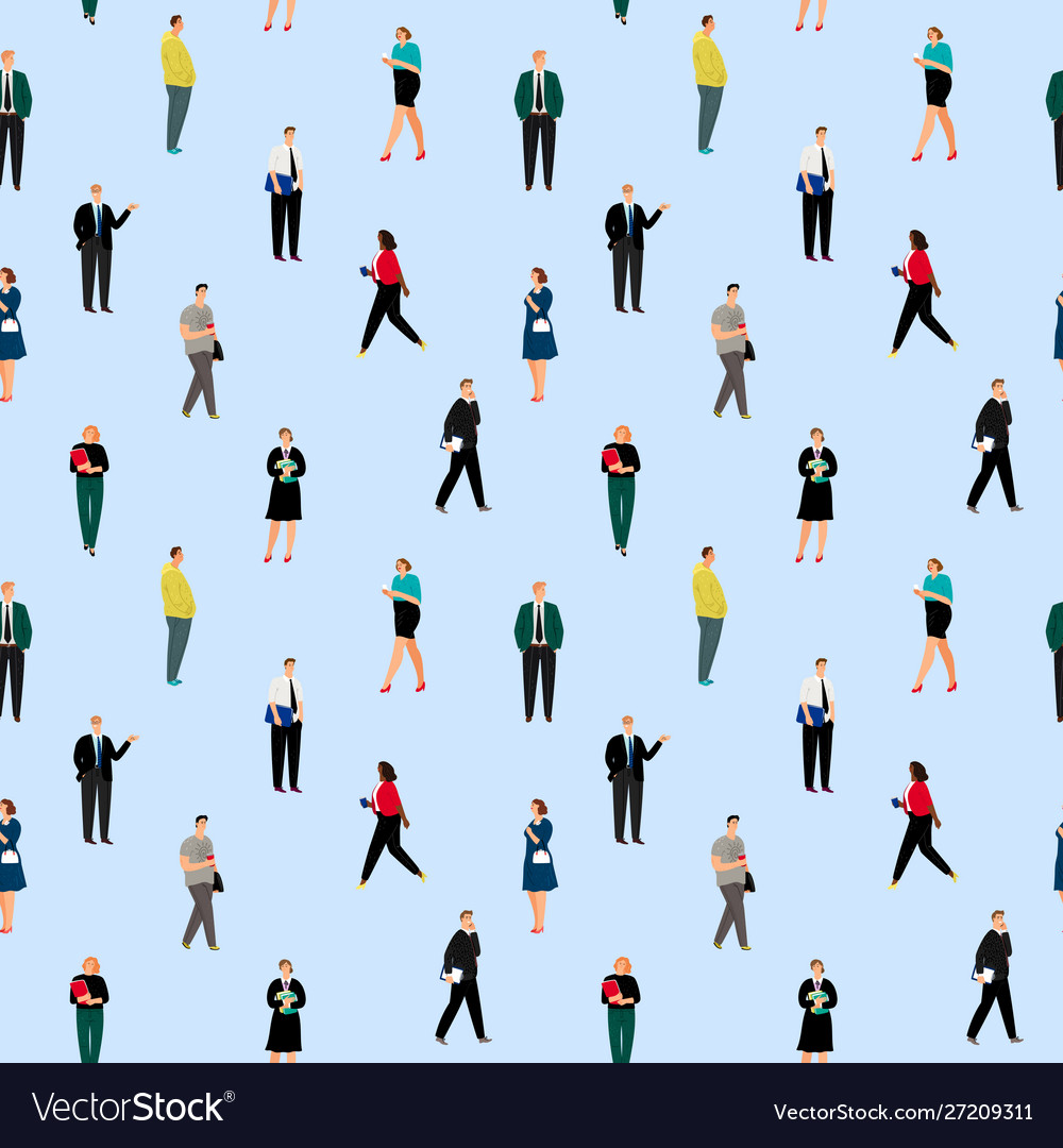 Office people pattern