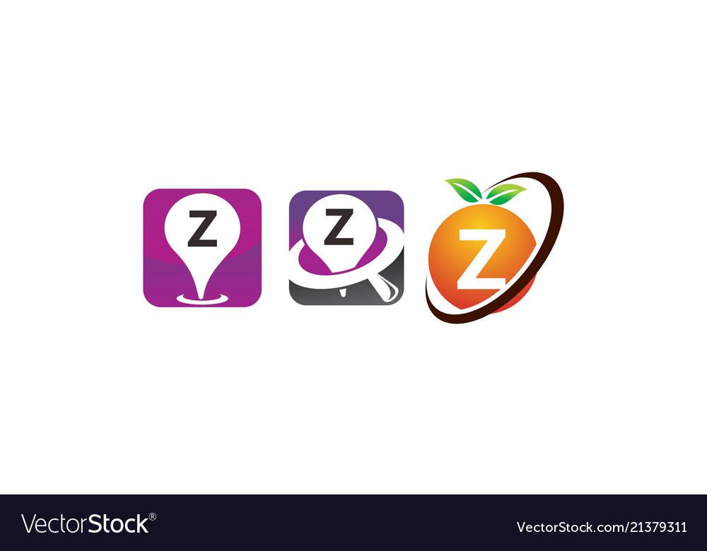 Pin location fruit z template set