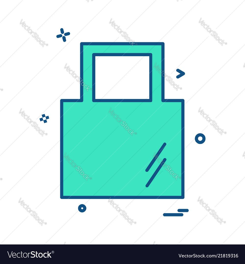 Bag icon design