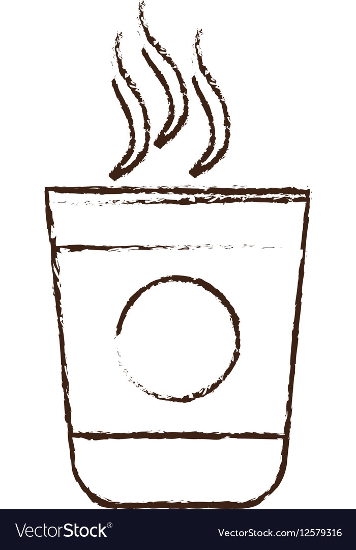 how to draw a cup of coffee