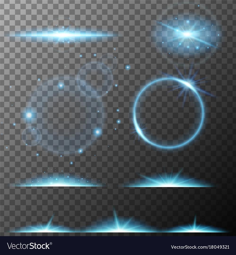 Many design of blue beam lights