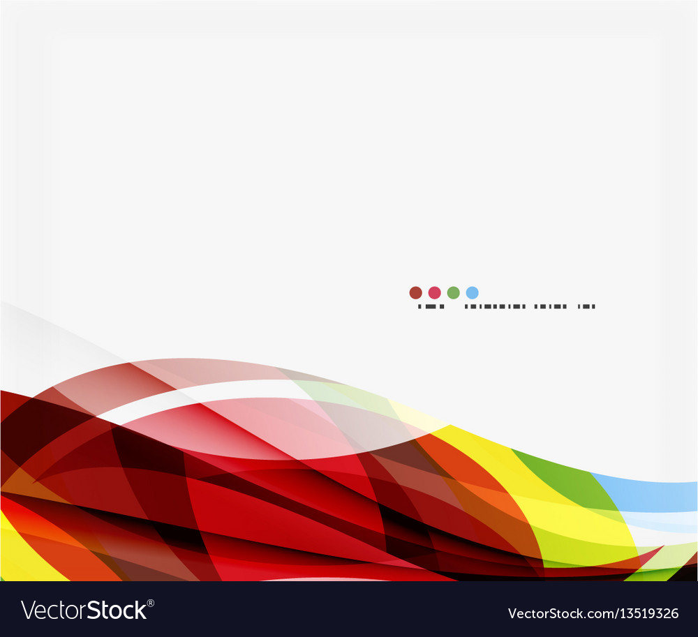 Colorful geometric wave abstract background