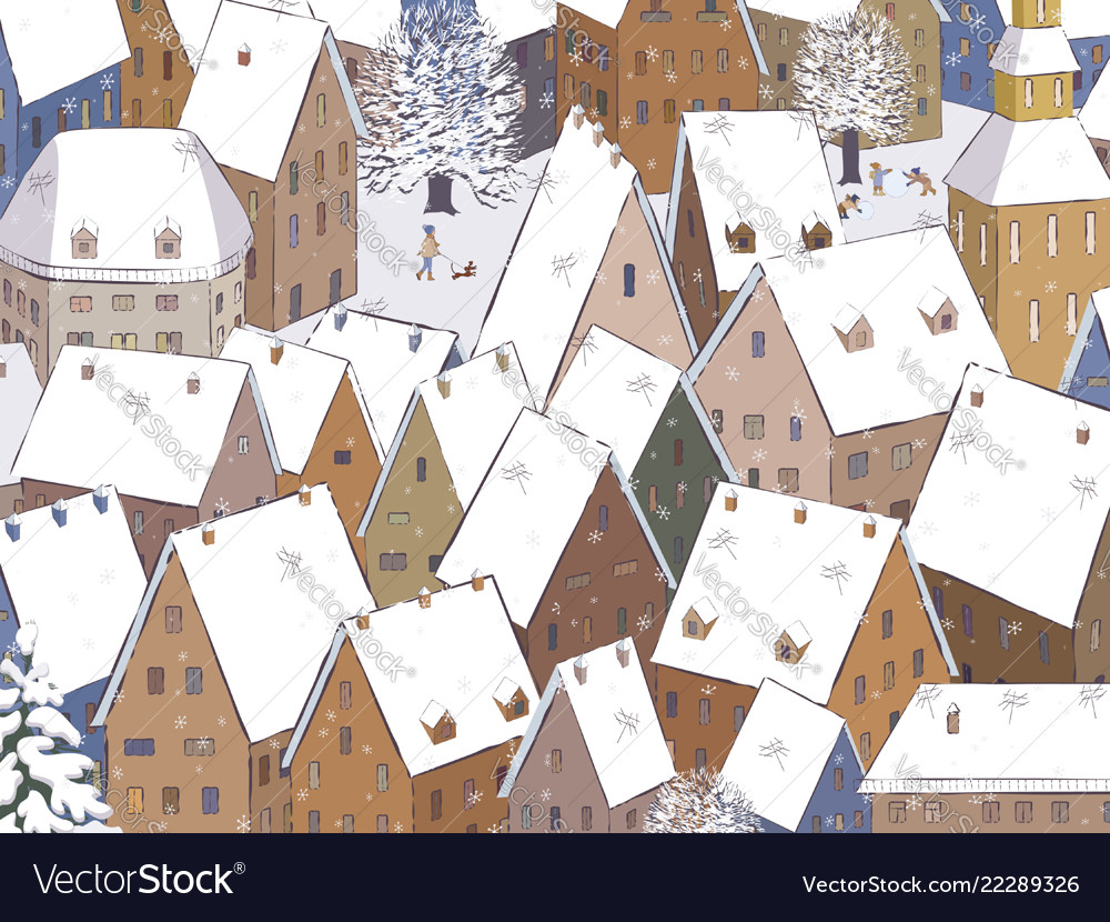 Roofs under snow