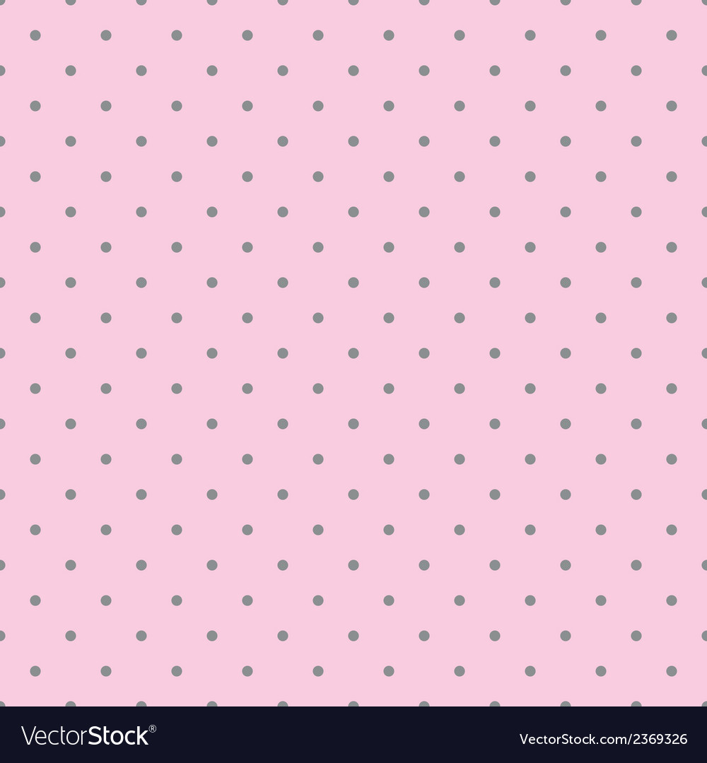 Tile pattern with grey polka dots pink background