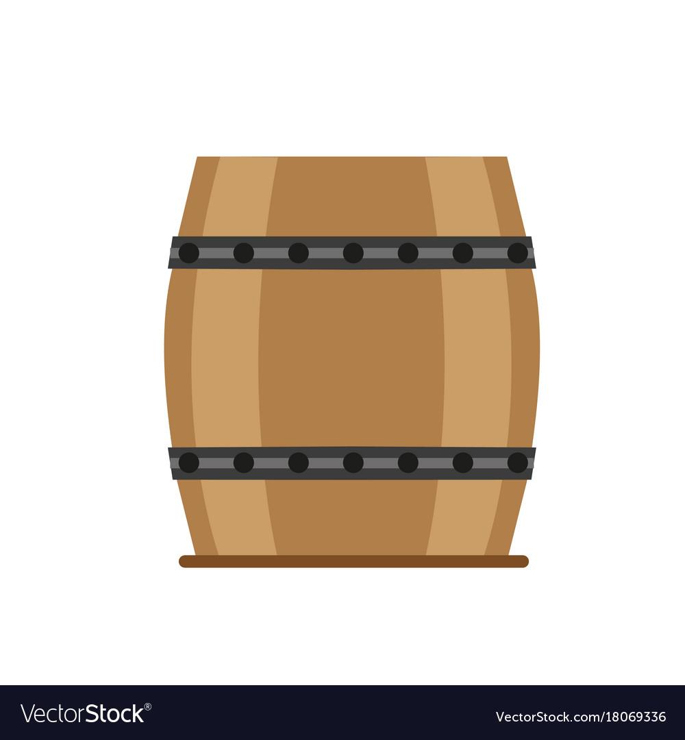 Barrel wooden wine beer vintage isolated wood