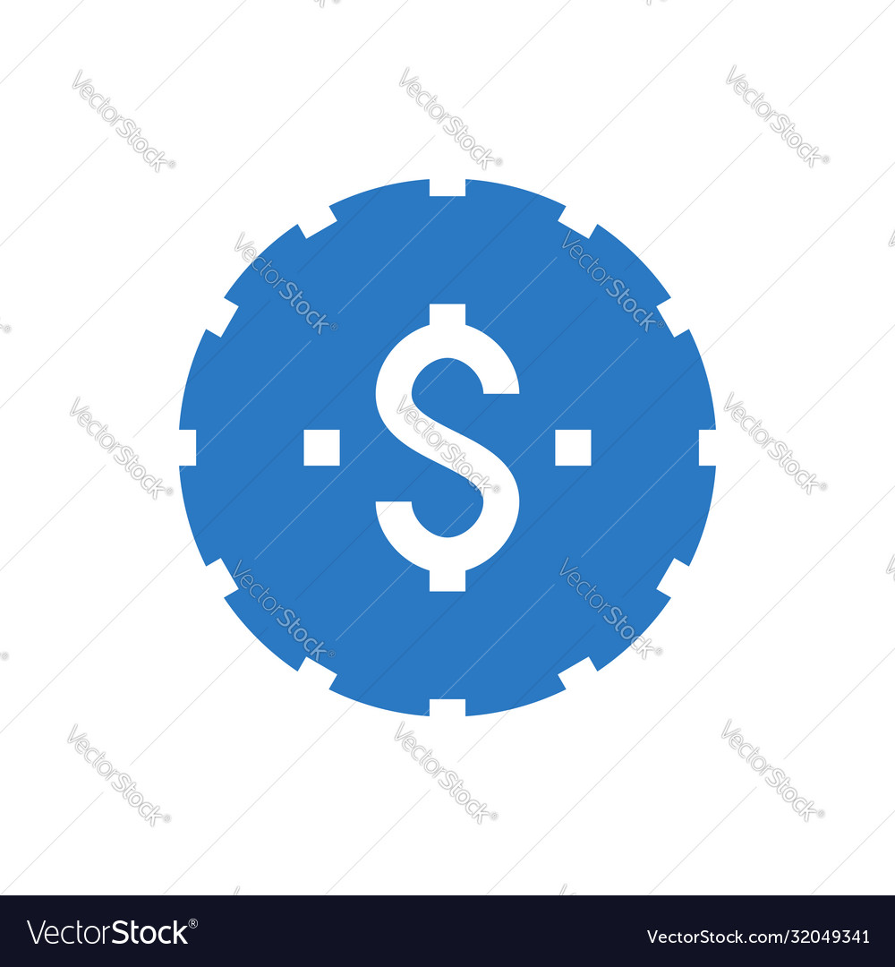 Coins stack glyph icon