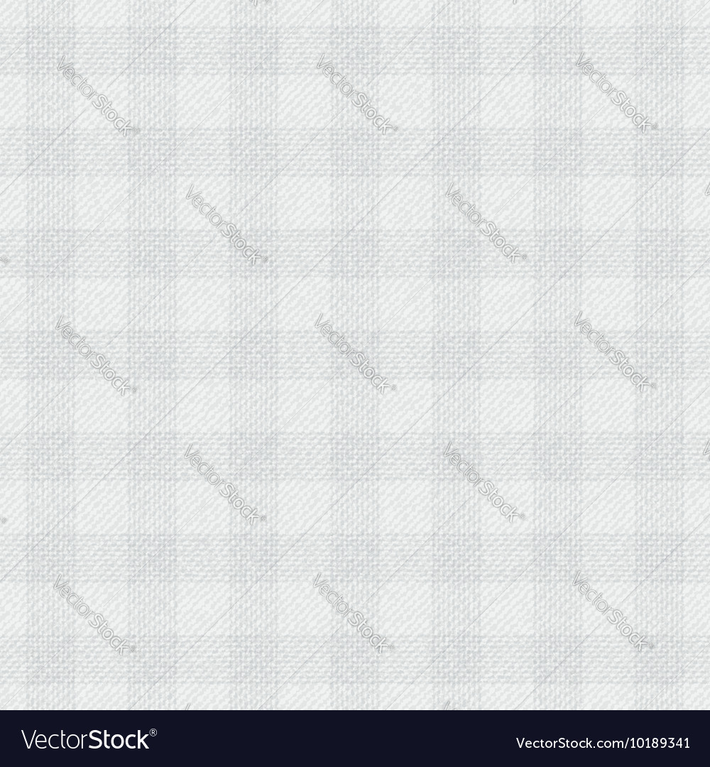 Repeating cloth texture Light gray cells on a vector image