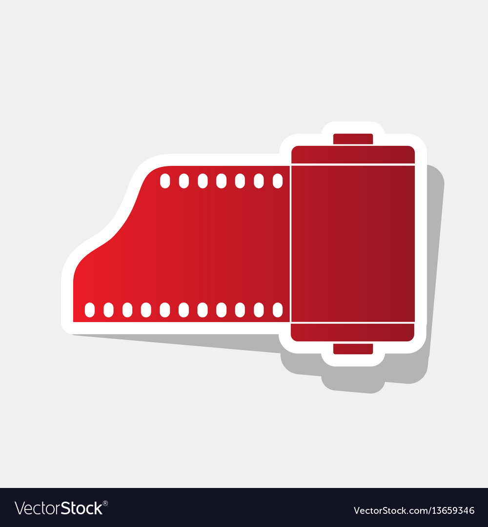 Foto camera casset sign new year reddish
