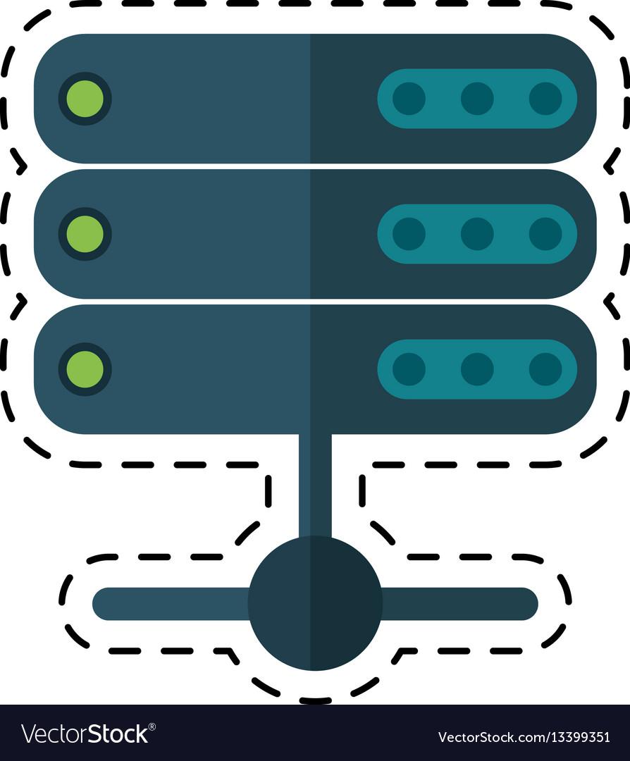 Cartoon data server technology system