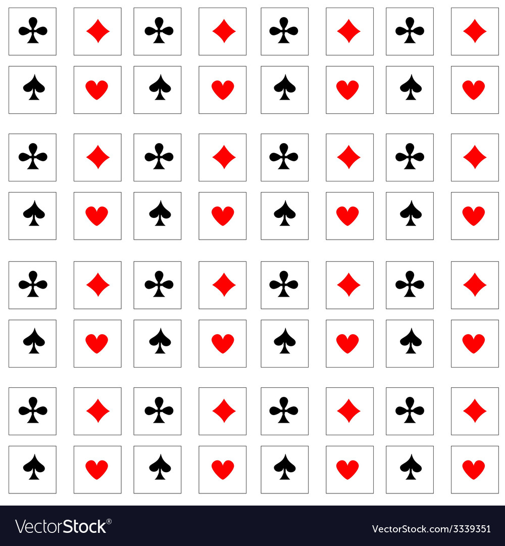 Pattern playing cards