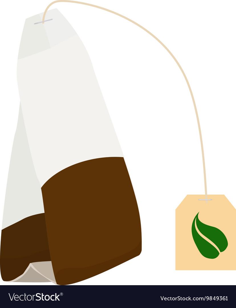 Tea bag disposable icon