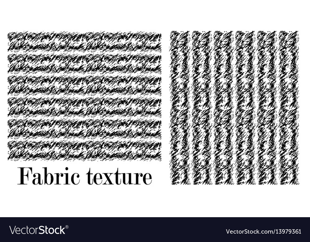 The straight texture of the carpet