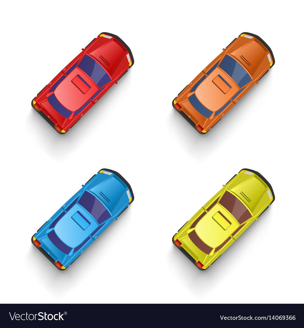 Car color set transport sign drive