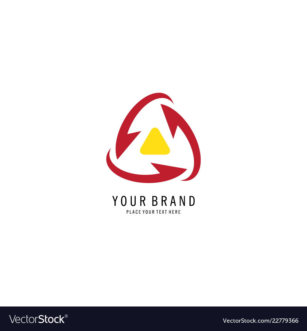 Triangle recycle logo