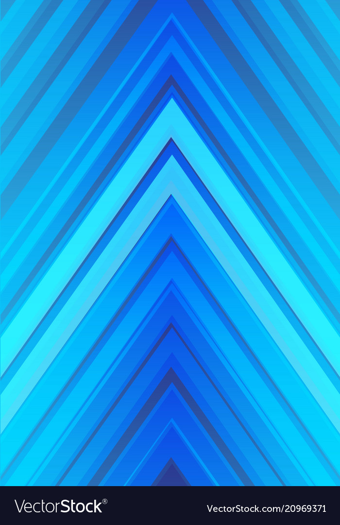 Blue light arrow direction design modern