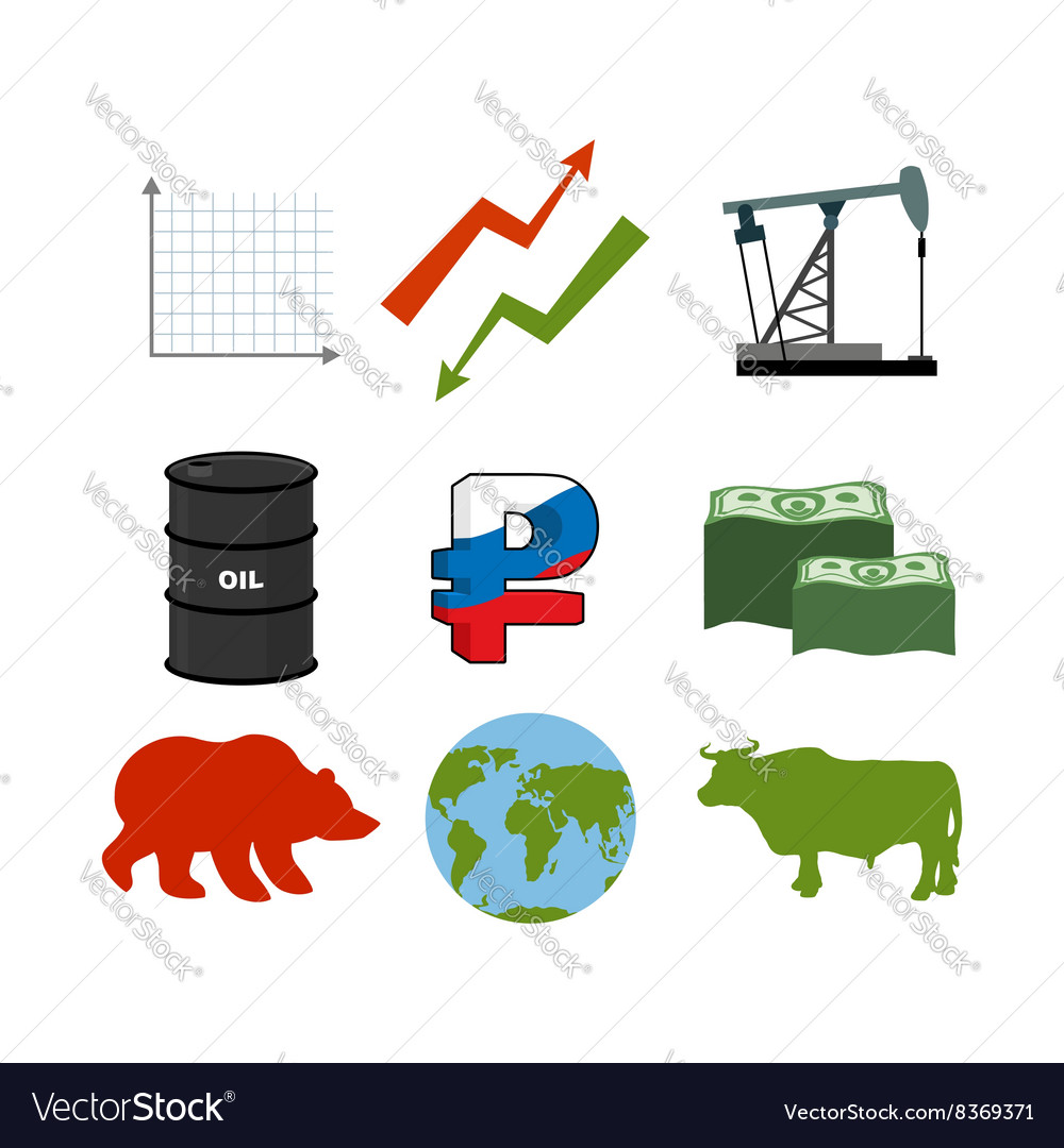 Set for business graphics Set to infographics Icon